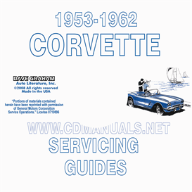 1953-1962 Corvette Servicing Guide/Repair Manual | eBooks | Automotive