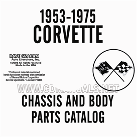 1953-1975 Corvette Chassis And Body Parts Manual | eBooks | Automotive