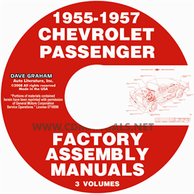 1955-1957 Chevrolet Factory Assembly Manuals | eBooks | Automotive