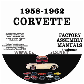 1958-1962 Chevrolet Corvette Factory Assembly Manuals | eBooks | Automotive