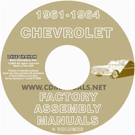 1961-1964 Chevrolet Factory Assembly Manuals | eBooks | Automotive