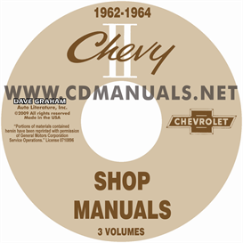 1962-1964 Nova Shop Manuals | eBooks | Automotive
