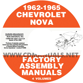 1962-1965 Chevy Ii Nova Factory Assembly Manuals | eBooks | Automotive