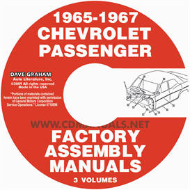 1965-1967 Chevrolet Car Factory Assembly Manuals | eBooks | Automotive