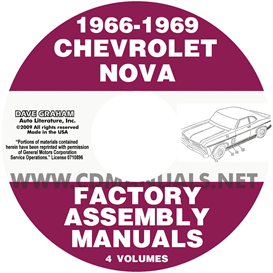 1966-1969 Chevy II NOVA ASSEMBLY MANUALS | eBooks | Automotive