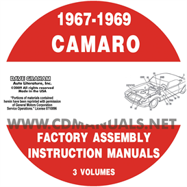 1967-1969 Camaro Factory Assembly Manuals | eBooks | Automotive