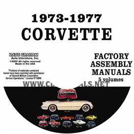 1973-1977 Chevrolet Corvette Factory Assembly Manuals | eBooks | Automotive
