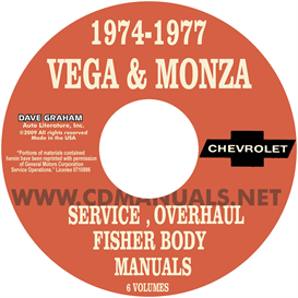 1974-1977 Vega & Monza Shop Manuals | eBooks | Automotive