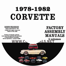 1978-1982 Chevrolet Corvette Factory Assembly Manuals | eBooks | Automotive