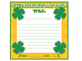 St. Patrick's Day Poetry Set | Other Files | Documents and Forms