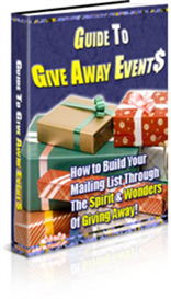 Guide To Give Away Events - New ebook with PLR | eBooks | Internet