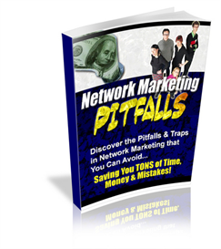 network marketing pitfalls - new ebook with plr