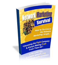 network marketing survival - new ebook with plr