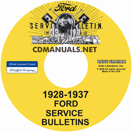 1928-1937 Ford Service Bulletins | eBooks | Automotive