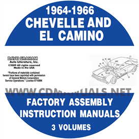 1964-66 Chevelle Factory Assembly Manuals | eBooks | Automotive