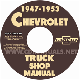 1948-1953 Chevy Pickup And Truck Shop Manual | eBooks | Automotive
