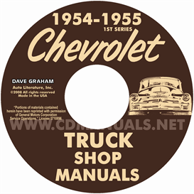 1954-1955 1st Series CHEVROLET PICKUP & TRUCK | eBooks | Automotive
