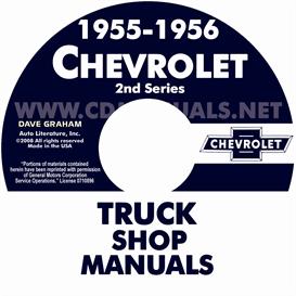 1955 2nd Series-1956 CHEVROLET PICKUP & TRUCK   eBooks   Automotive