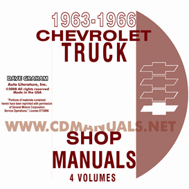 1963-1966 Chevrolet Pickup, Truck, & Van | eBooks | Automotive