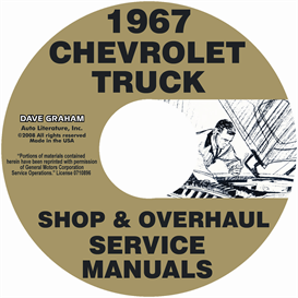 1967 Chevy 10-60 Pickup & Truck Shop Manual & Overhaul Manual | eBooks | Automotive