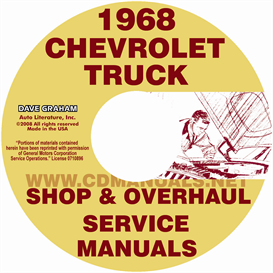 1968 Chevy Pickup & Truck Shop Manual & Overhaul Manual | eBooks | Automotive