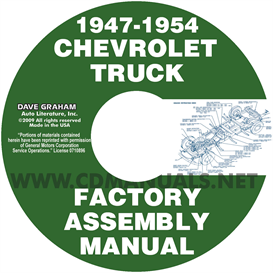 1947-1954 Chevrolet Pickup Truck Assembly Manual | eBooks | Automotive
