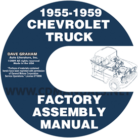 1955-1959 Chevrolet Pickup Truck Factory Assembly Manual | eBooks | Automotive