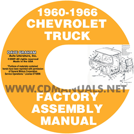 1960-1966 Chevrolet And Gmc Pickup Truck Assembly Manual | eBooks | Automotive