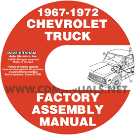 1967-1972 Chevrolet And Gmc Pickup Truck Assembly Manual | eBooks | Automotive
