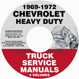 1969-1972 Chevrolet 70-80 Heavy Truck Service Manual | eBooks | Automotive