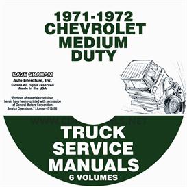 1971-1972 Chevrolet 40-60 Medium Truck Service Manual | eBooks | Automotive