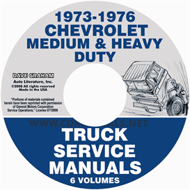 1973-1976 Chevrolet Medium And Heavy Duty Truck Service Manual | eBooks | Automotive