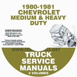 1980-1981 Chevrolet Medium And Heavy Truck Service Manual | eBooks | Automotive