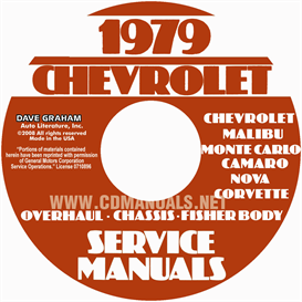1979 Chevy Car Service, Overhaul, And Body Manuals | eBooks | Automotive