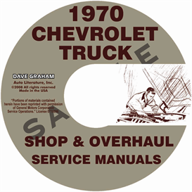 1970 Chevy Pickup & 10-60 Truck Repair Manual & Overhaul Manual | eBooks | Automotive
