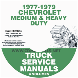 1977-1979 Chevrolet Medium And Heavy Duty Truck Service Manual | eBooks | Automotive