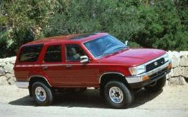 1992 Toyota 4Runner MVMA | eBooks | Automotive