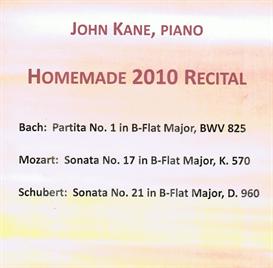 Homemade 2010 Recital Mozart Sonata K 570 II Adagio MP3 | Music | Classical