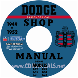 1949-1952 Dodge Service Manual - All Models | eBooks | Automotive