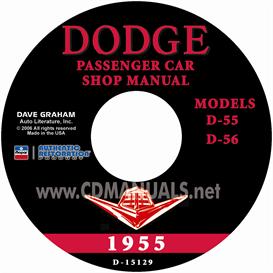 1955 Dodge Service Manual - All Models | eBooks | Automotive