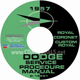 1957 Dodge Service Manual - All Models | eBooks | Automotive