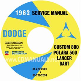 1962 Dodge Service Manual - All Models | eBooks | Automotive