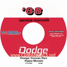 1968 Dodge Service Manuals - All Models | eBooks | Automotive