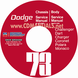 1973 Dodge Service Shop Manuals - All Models | eBooks | Automotive