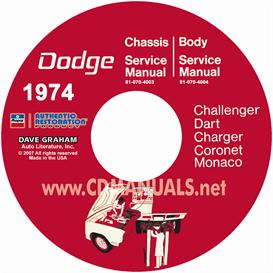 1974 Dodge Service Shop Manuals - All Models | eBooks | Automotive