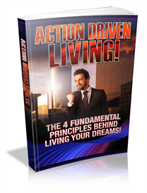 Action Driven Living ebook with resell rights bonus | eBooks | Self Help