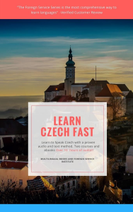 learn czech fast course, digital edition
