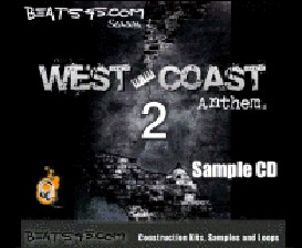 beats45 west coast anthems 2 sample cd