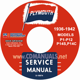 1936-1942 Plymouth Shop Manual | eBooks | Automotive