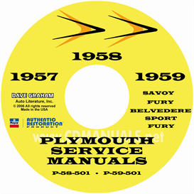 1957-1958-1959 Plymouth Shop Manual | eBooks | Automotive